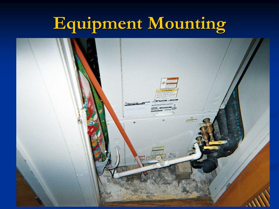 Equipment Mounting