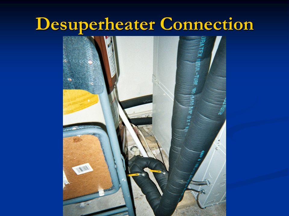 Desuperheater Connection