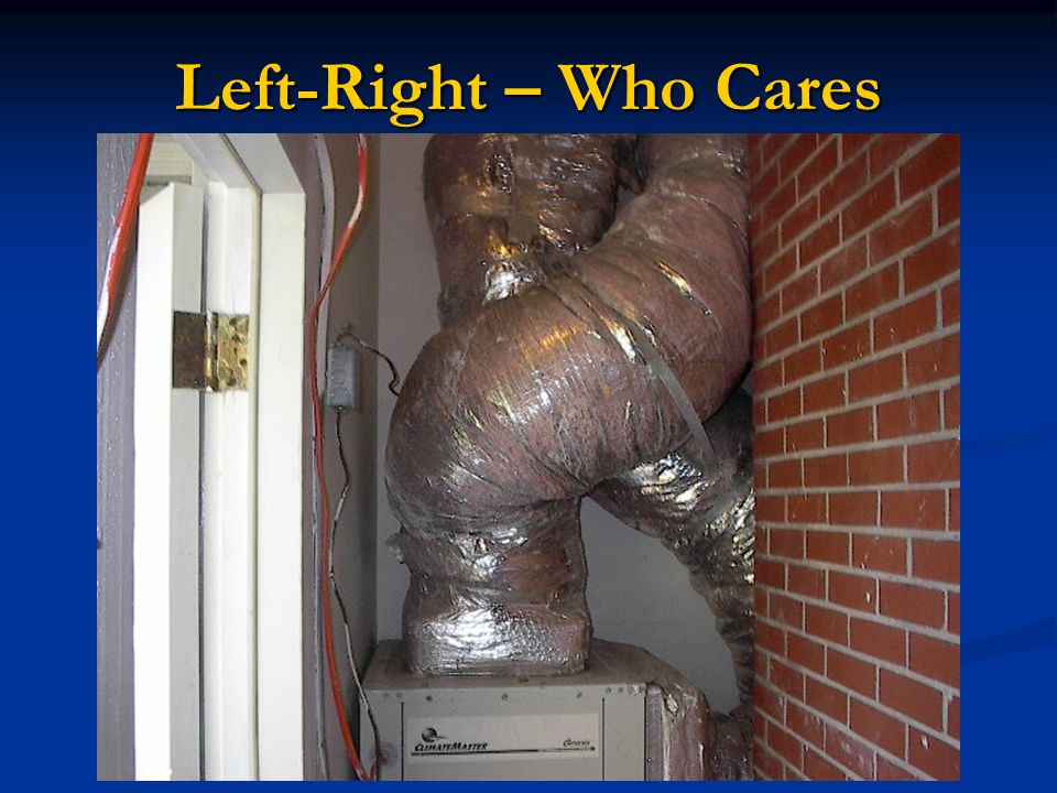 Left-Right – Who Cares