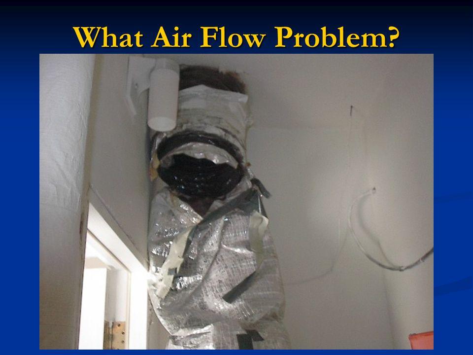 What Air Flow Problem