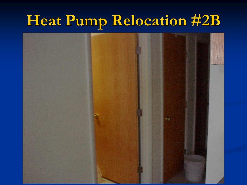 Heat Pump Relocation #2B