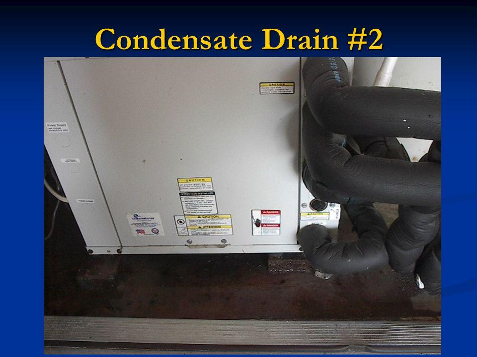 Condensate Drain #2