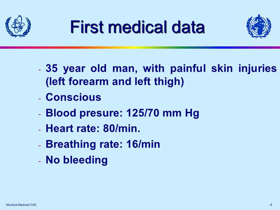 Module Medical XVIII.