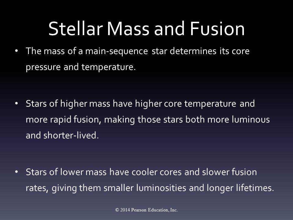 High Mass Main Sequence Stars The CNO cycle is another nuclear fusion reaction which converts Hydrogen into Helium by using Carbon as a catalyst.