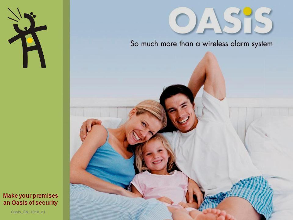 Make your premises an Oasis of security Oasis_EN_1010_c1