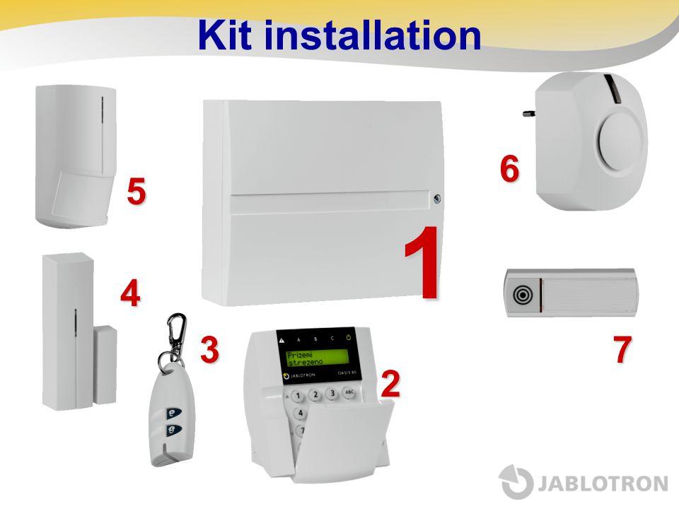 Kit installation1 5 6 73 4 2