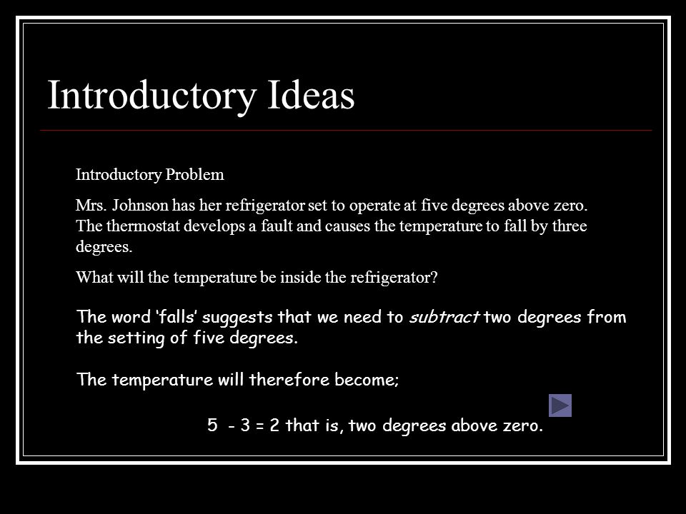 Introductory Ideas Introductory Problem Mrs.