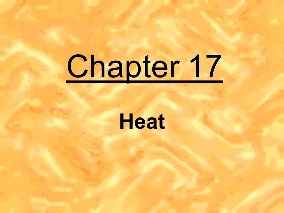 a form of energy caused by the internal motion of molecules of matter 18 th century scientists believed that heat was an invisible, weightless fluid capable of flowing from hotter objects to colder ones (called caloric)