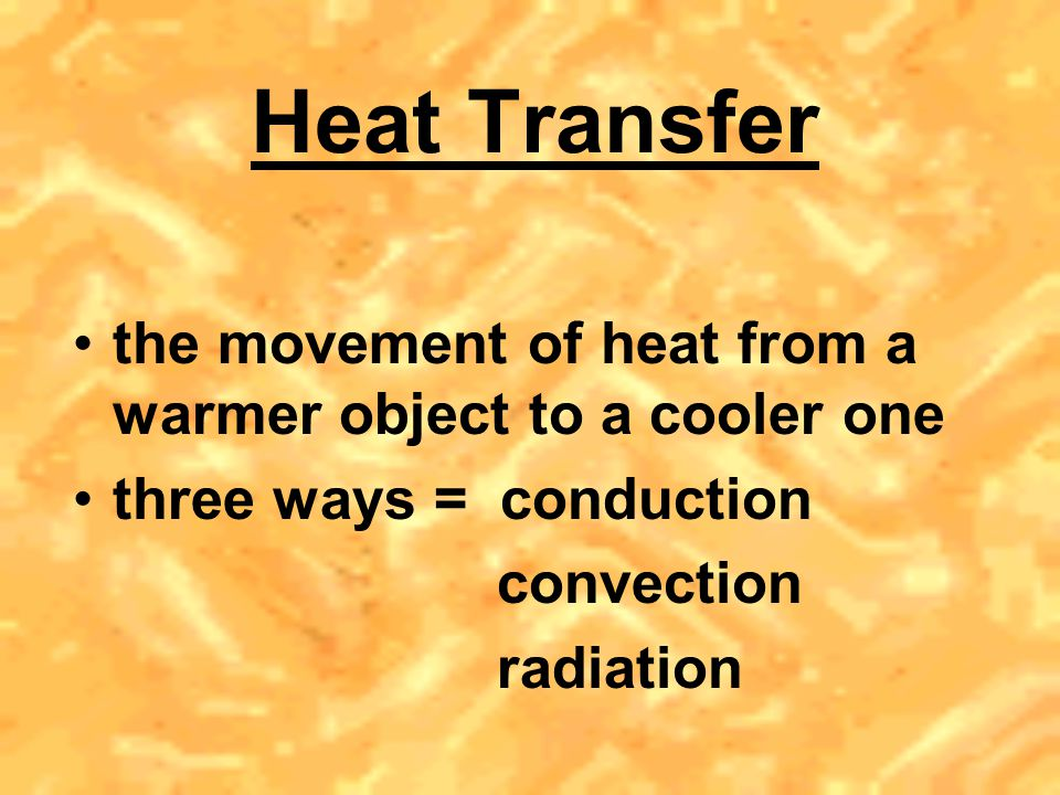 Thermal Expansion solids – molecules vibrate faster causing the distance between molecules to increase liquids – molecules move faster & farther apart (one big exception is water) gases – molecules already far apart, additional heating & expansion may lead to an explosion if contained