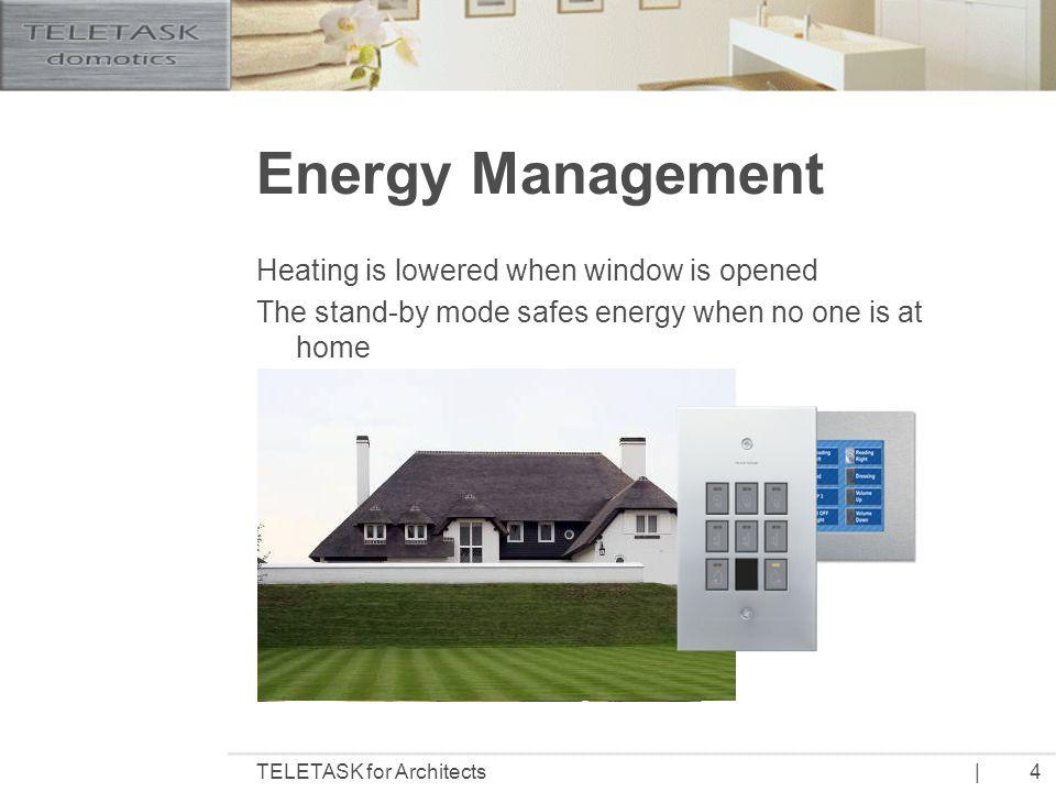 |TELETASK for Architects5 Why TELETASK.