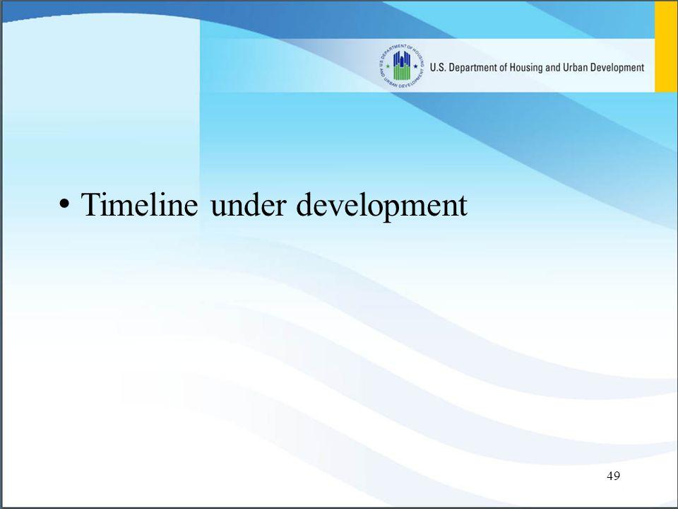 49 Timeline under development