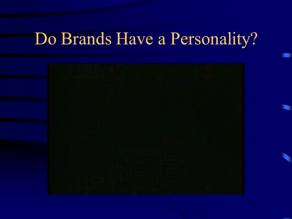Do Brands Have a Personality