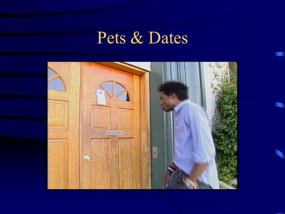 Pets & Dates