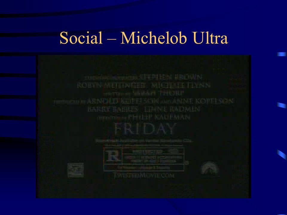 Social – Michelob Ultra