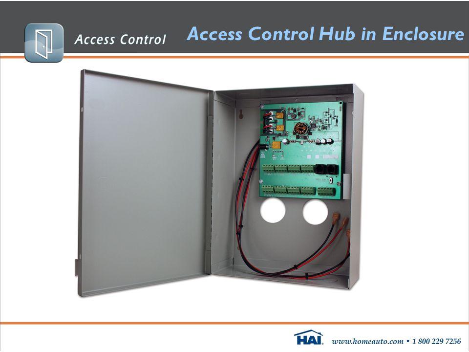 Access Control Hub in Enclosure