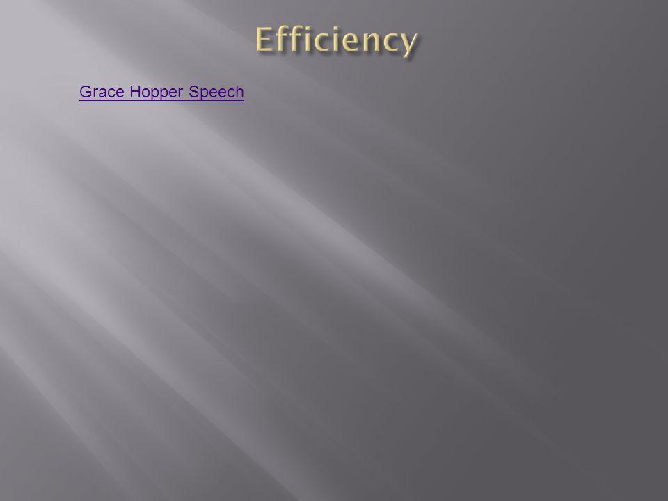 Grace Hopper Speech