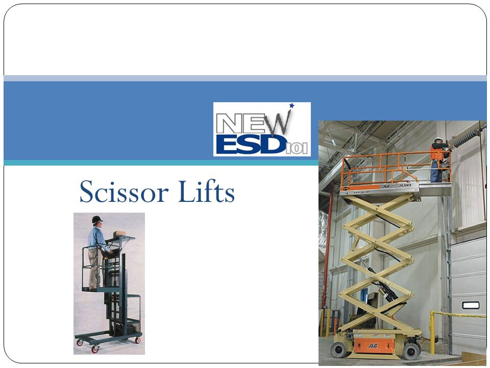 Aerial Work Platforms Classified by OSHA as Scaffolding Guidelines addressed in OSHA §1926.452(w) - Mobile Scaffolds Must meet requirements of this section