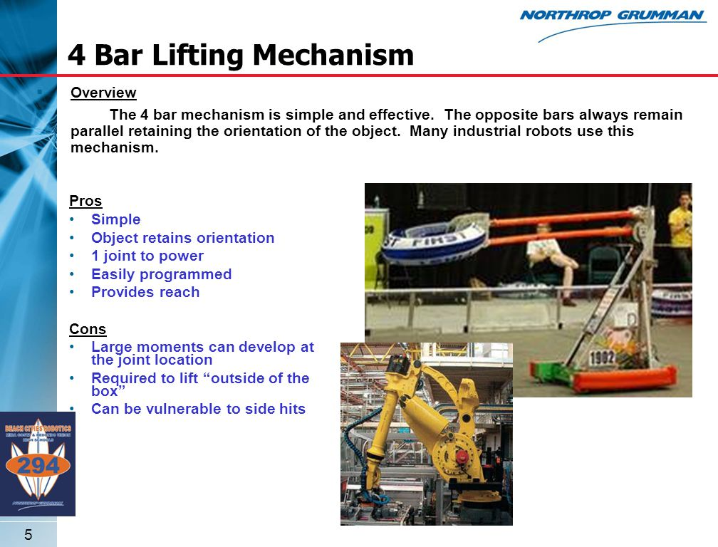 6 Overview Telescoping lifts are most commonly used within forklifts and cranes.