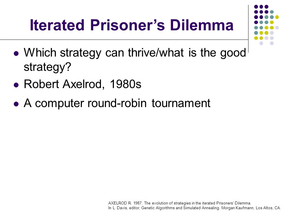 Which strategy can thrive/what is the good strategy.