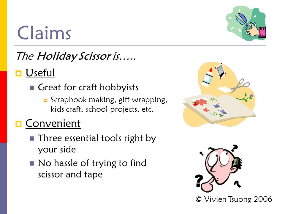  Useful Great for craft hobbyists  Scrapbook making, gift wrapping, kids craft, school projects, etc.  Convenient Three essential tools right by yo
