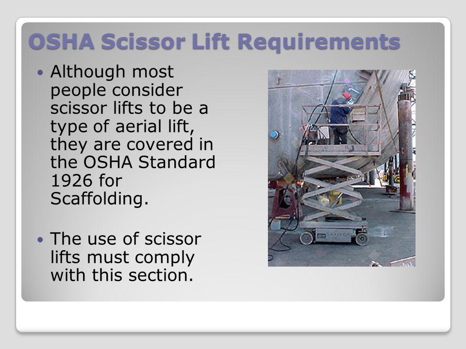 Working on Scissor Lifts Part II