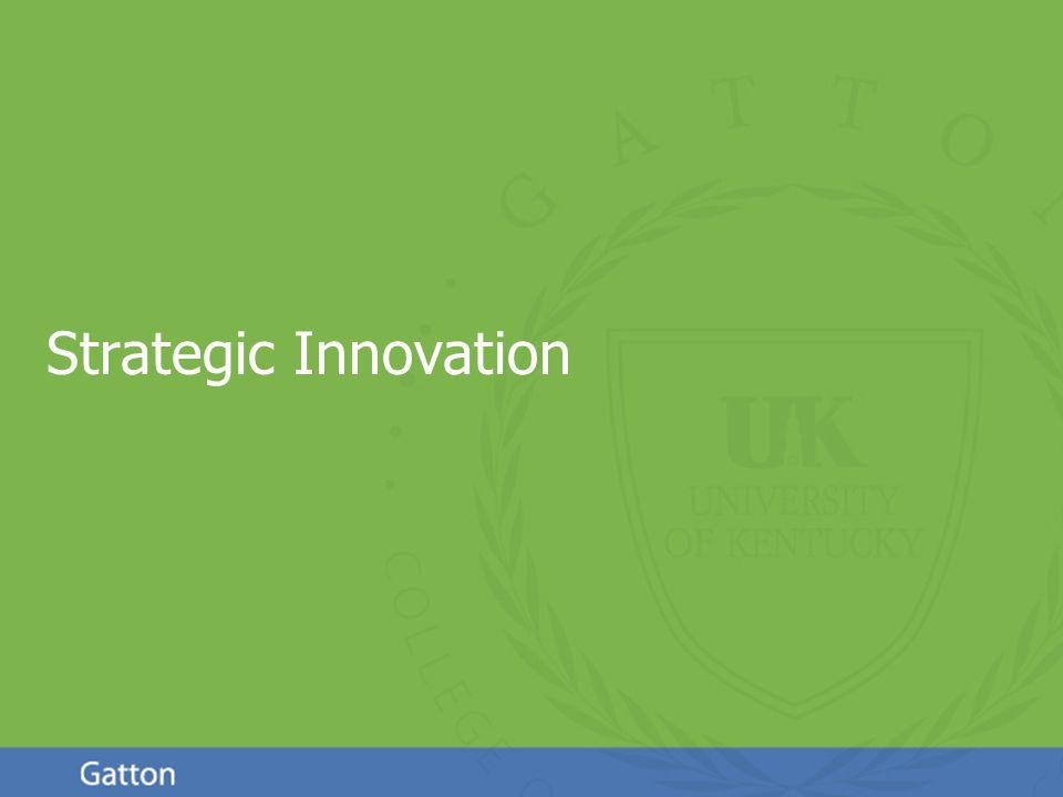 Page 1 Strategic Innovation