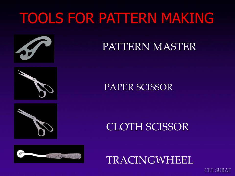 PAPER SCISSOR CLOTH SCISSOR PATTERN MASTER TRACINGWHEEL TOOLS FOR PATTERN MAKING