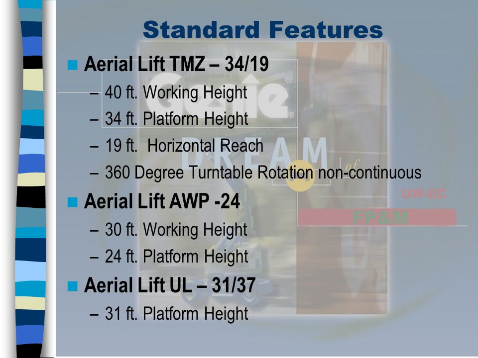 Aerial Lifts Safe Work Practices – Ground controls shall not be operated during use, unless instructed to do so by person in the platform or in an emergency.