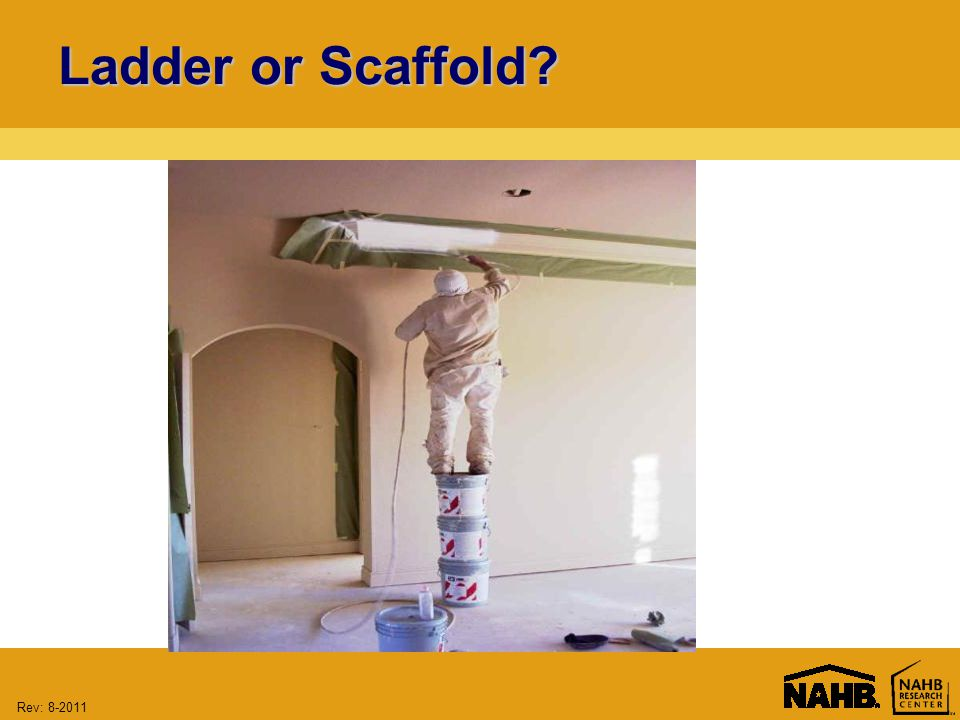 Rev: Ladder or Scaffold