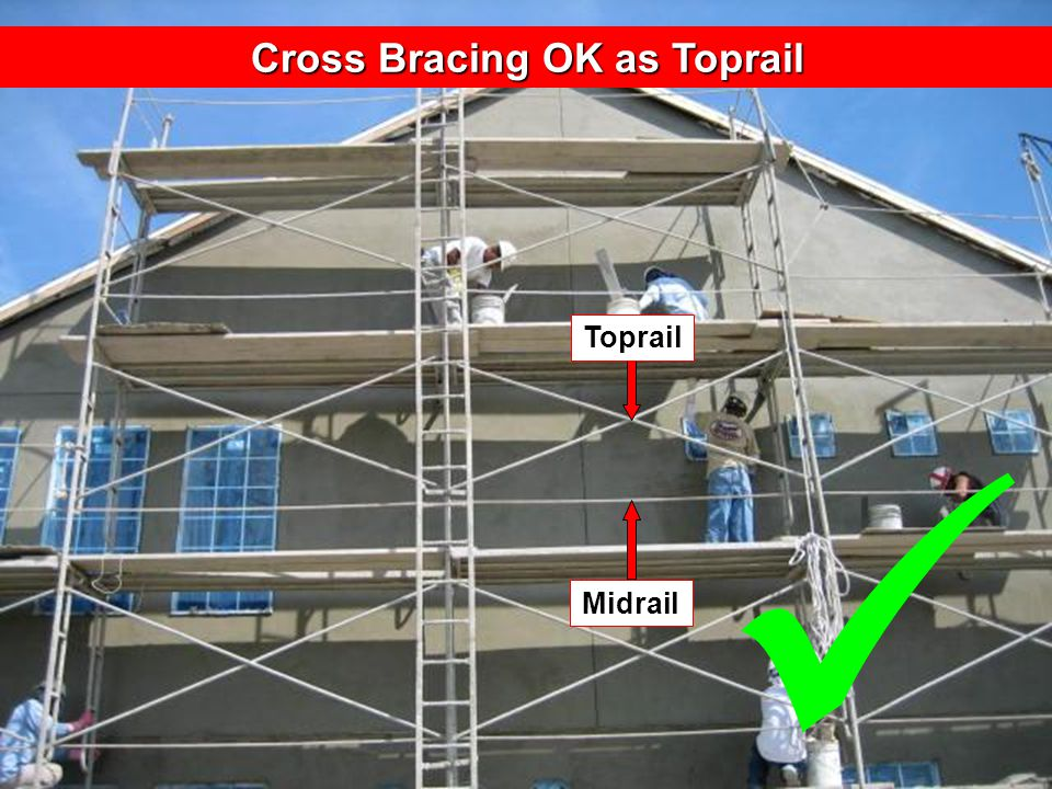 Rev: 8-2011 Midrail Toprail Cross Bracing OK as Toprail