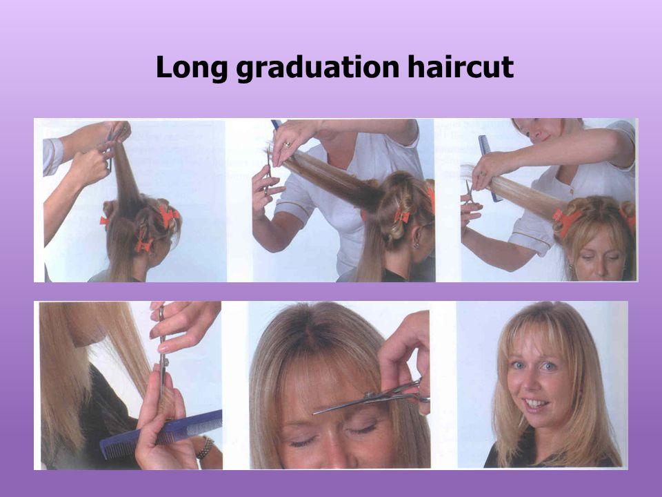 Long graduation haircut