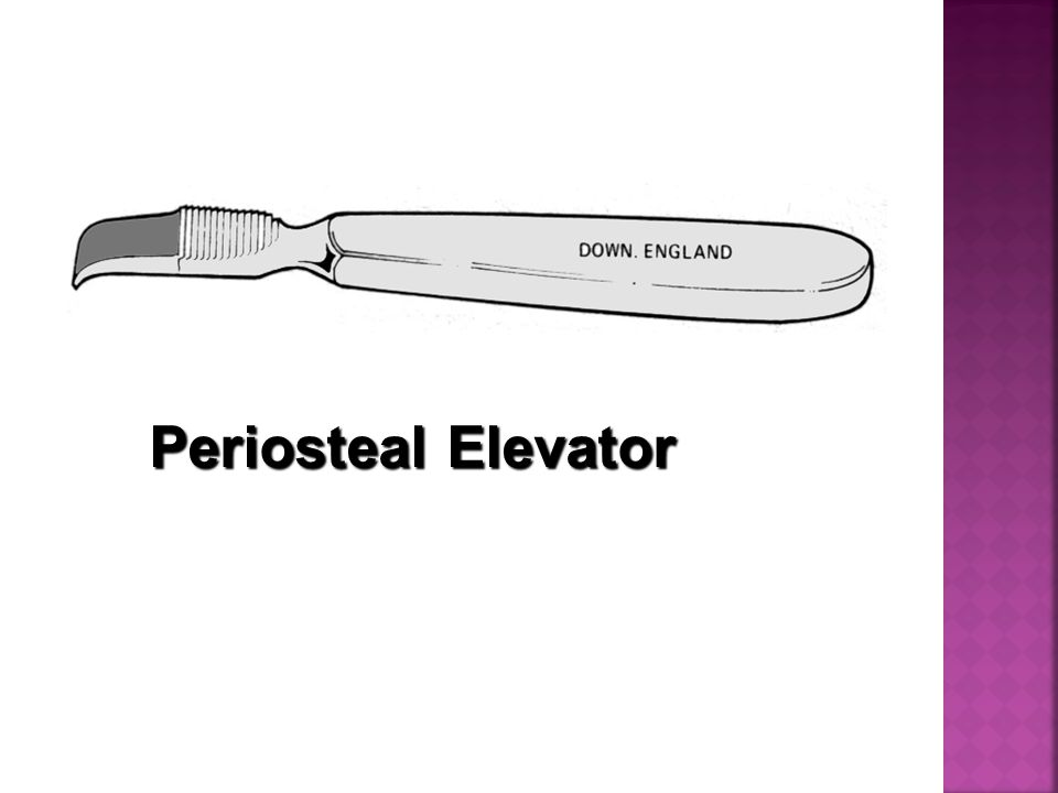 Periosteal Elevator