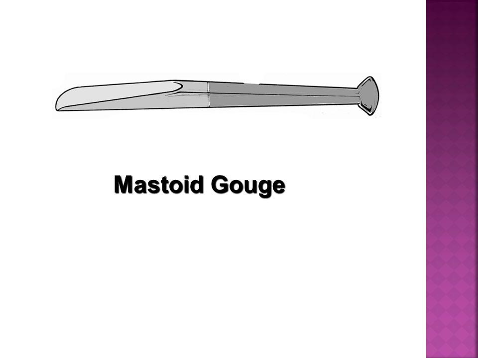 Mastoid Gouge