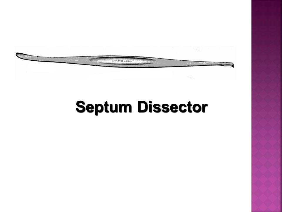Septum Dissector