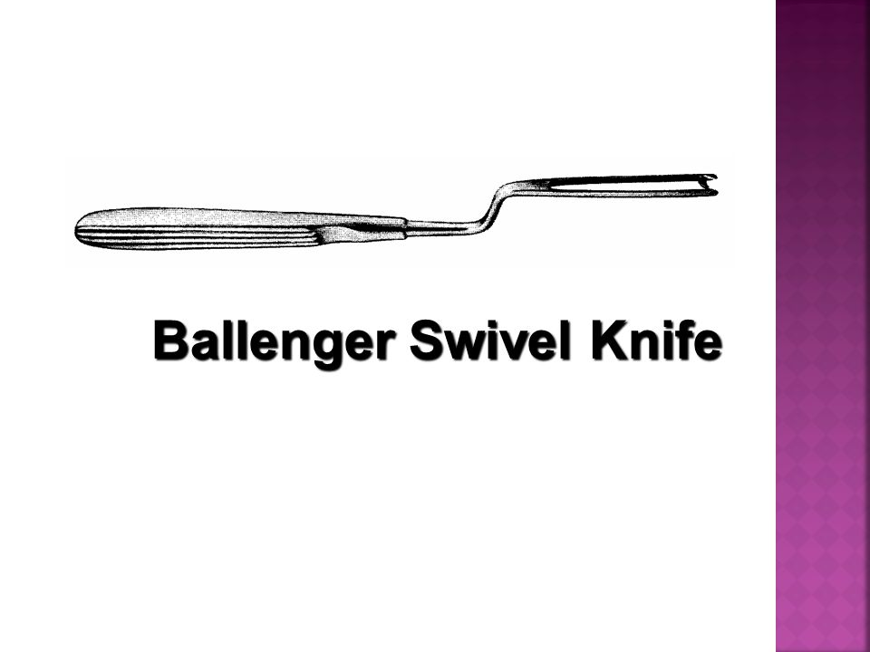 Ballenger Swivel Knife