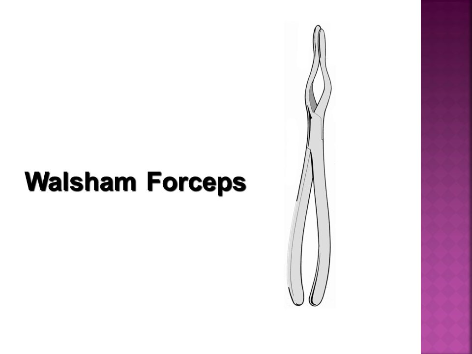 Walsham Forceps