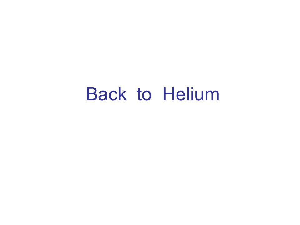 Back to Helium