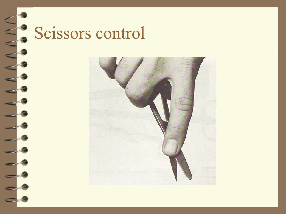 Scissors control