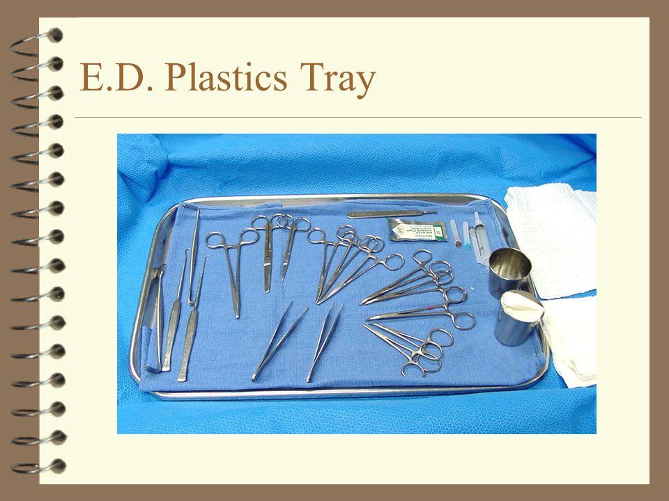 E.D. Plastics Tray