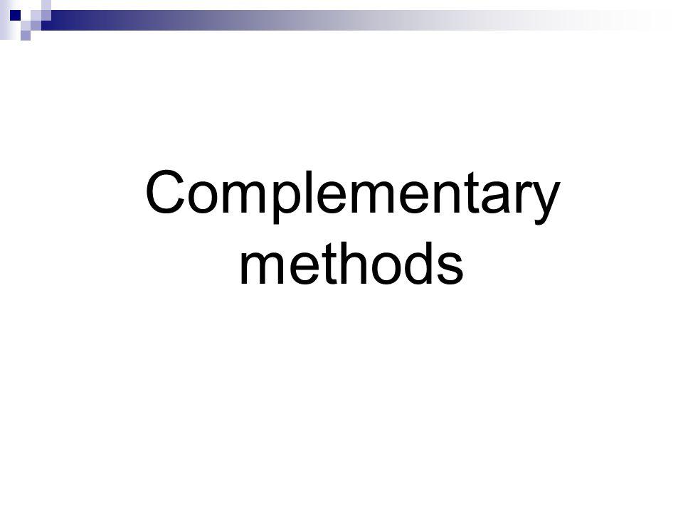Complementary methods