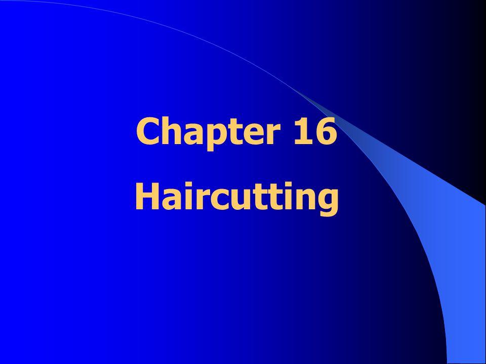 Shears: *cut blunt/straight lines *slide cut *point cut *texturizing techniques