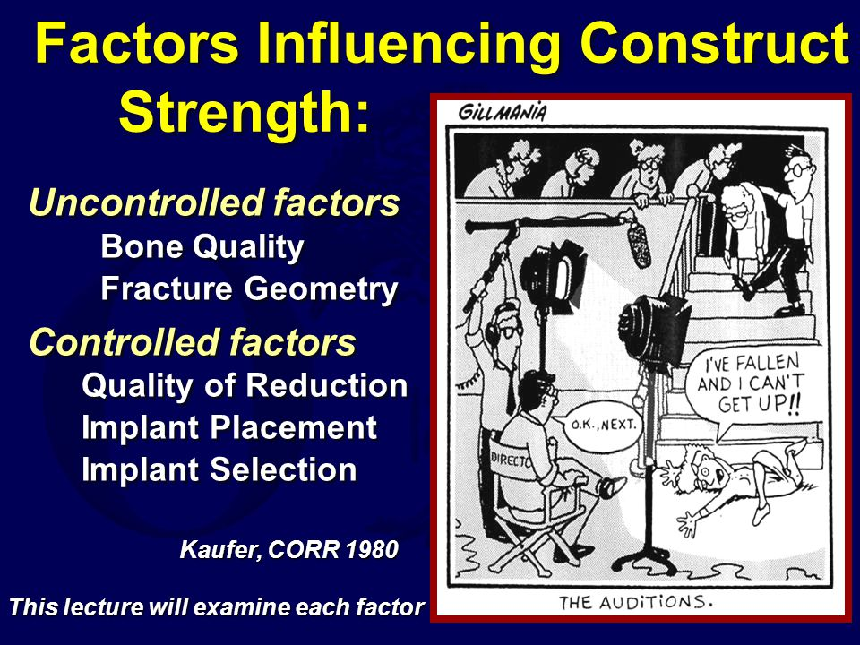 Key point It is not the reduced lever arm that offers the clinically significant mechanical advantage, but rather the intramedullary buttress that the nail provides to resist excessive fracture collapse* * Reduced collapse has been demonstrated in most every randomized study that has looked at the variable It is not the reduced lever arm that offers the clinically significant mechanical advantage, but rather the intramedullary buttress that the nail provides to resist excessive fracture collapse* * Reduced collapse has been demonstrated in most every randomized study that has looked at the variable