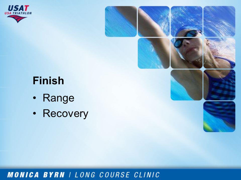 Finish Range Recovery