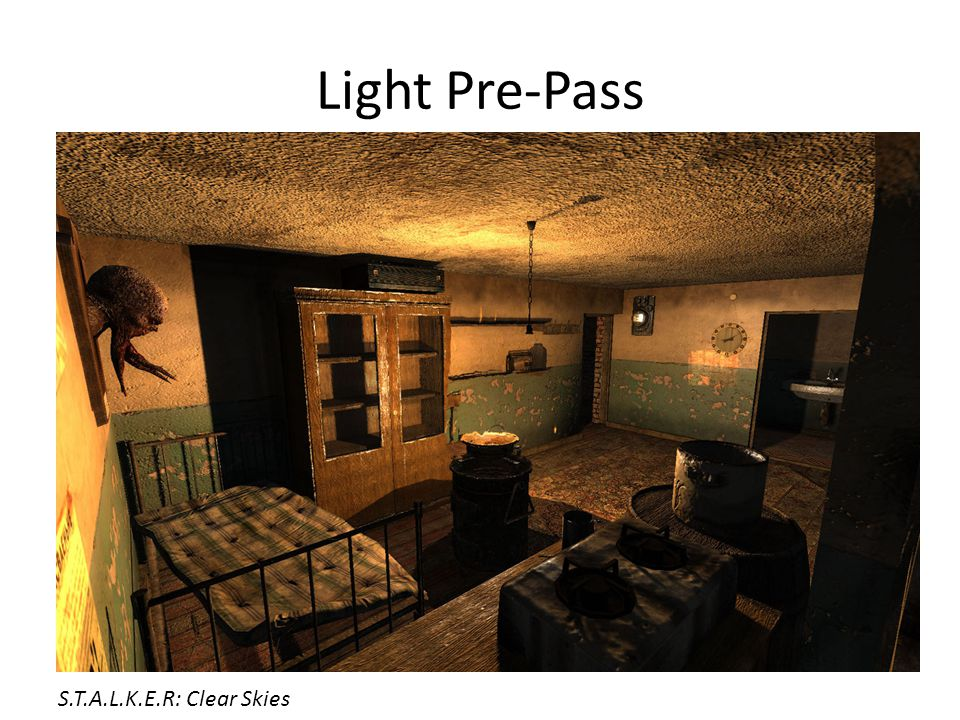 Light Pre-Pass S.T.A.L.K.E.R: Clear Skies