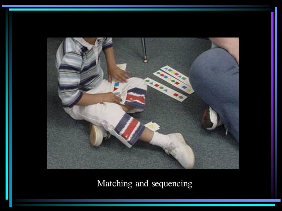 Matching and sequencing