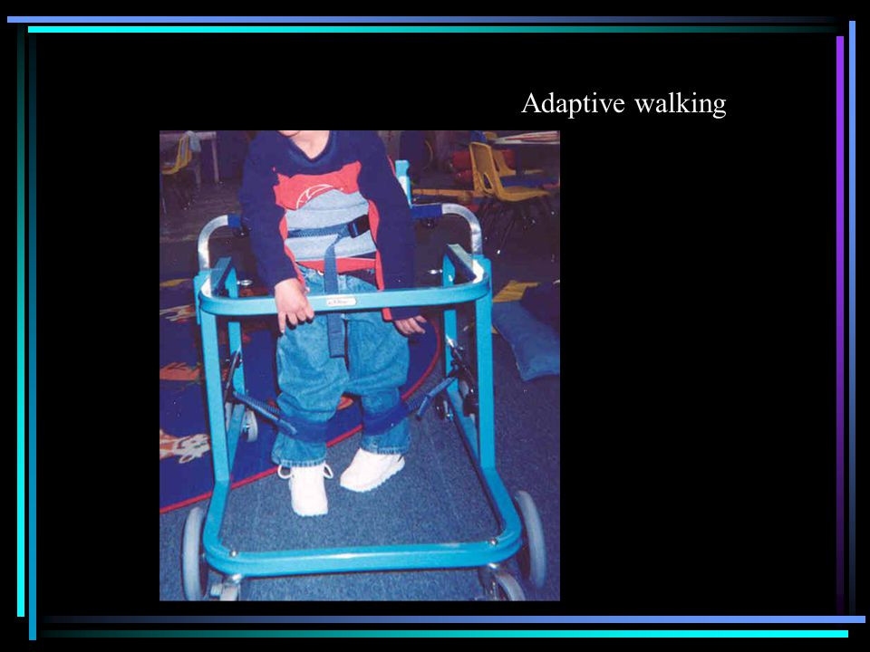 Adaptive walking