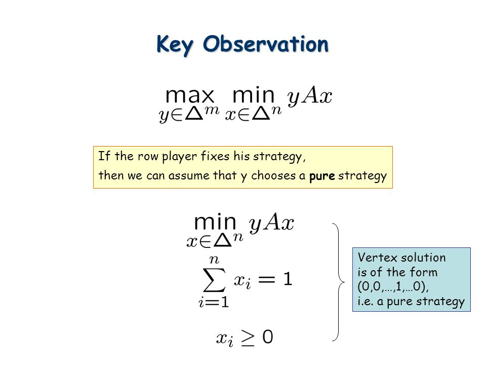 Summary How to obtain min-max theorems of combinatorial problems.