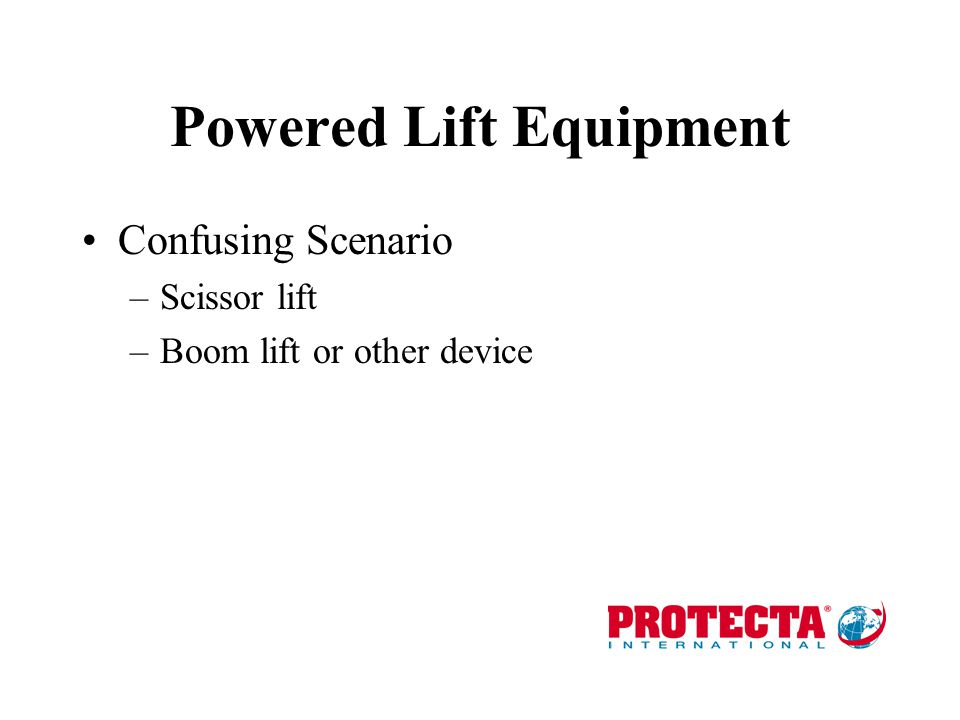 Entry & Exit Requirements Without approved means of entry –Basic fall protection –Personnel winch cannot be used as load winch With approved means of