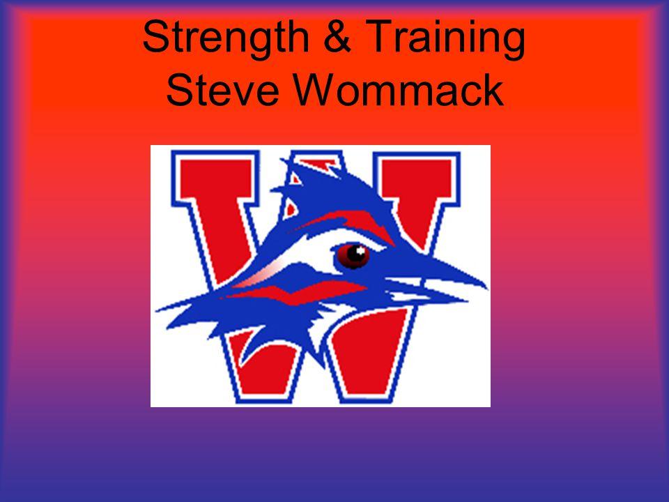 Strength & Training Steve Wommack