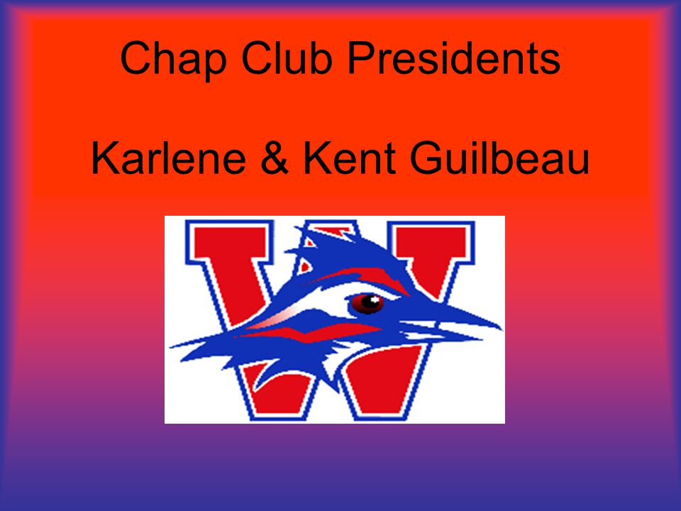 Chap Club Presidents Karlene & Kent Guilbeau